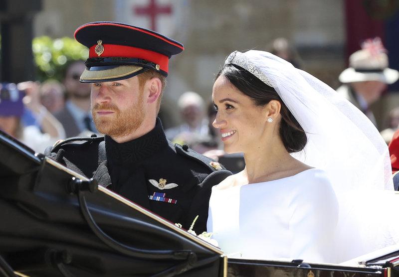 Πρίγκιπας Χάρι και Μέγκαν Μαρκλ, την ημέρα του γάμου τους