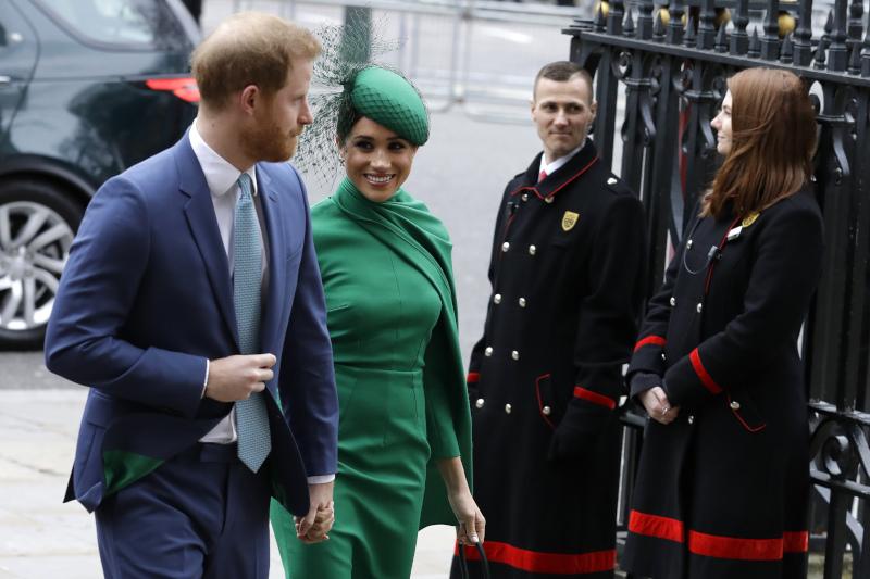 Πρίγκιπας Χάρι και Μέγκαν Μαρκλ εκπλήρωσαν τα τελευταία τους βασιλικά καθήκοντα στις 9 Μαρτίου