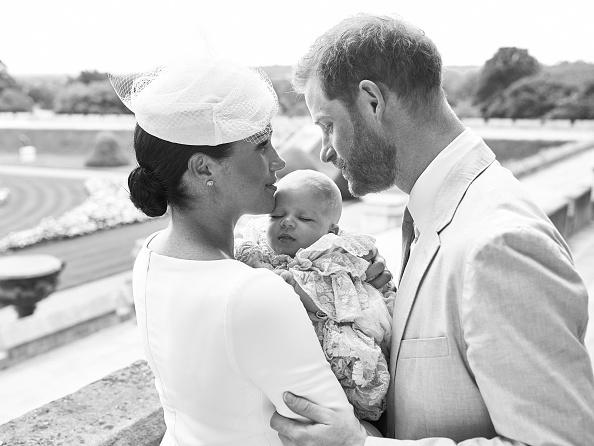 Μέγκαν Μαρκλ πρίγκιπας Χάρι και Αρτσι, στη βάφτιση του μικρού