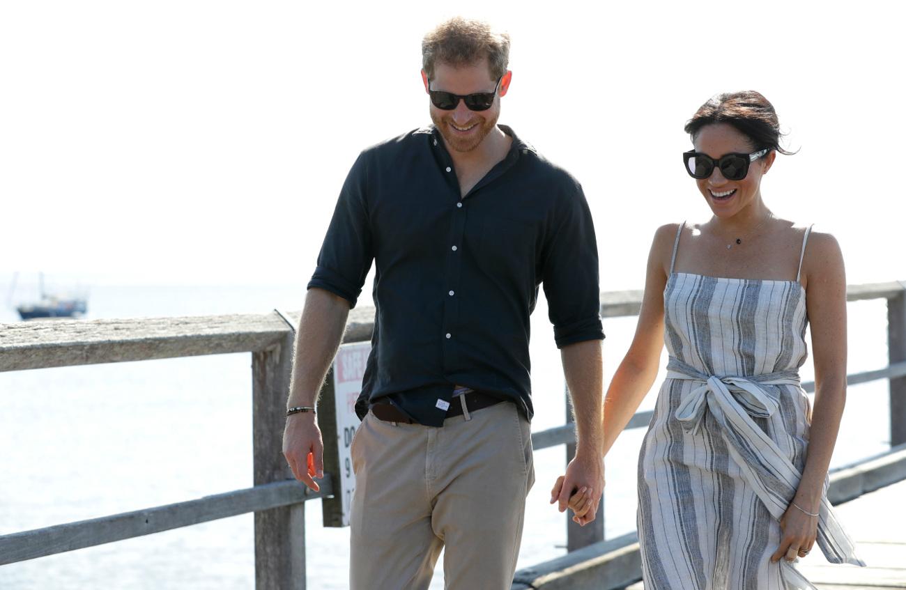 Πρίγκιπας Χάρι και Μέγκαν Μαρκλ σε χαλαρή βόλτα στο Σίδνεϊ