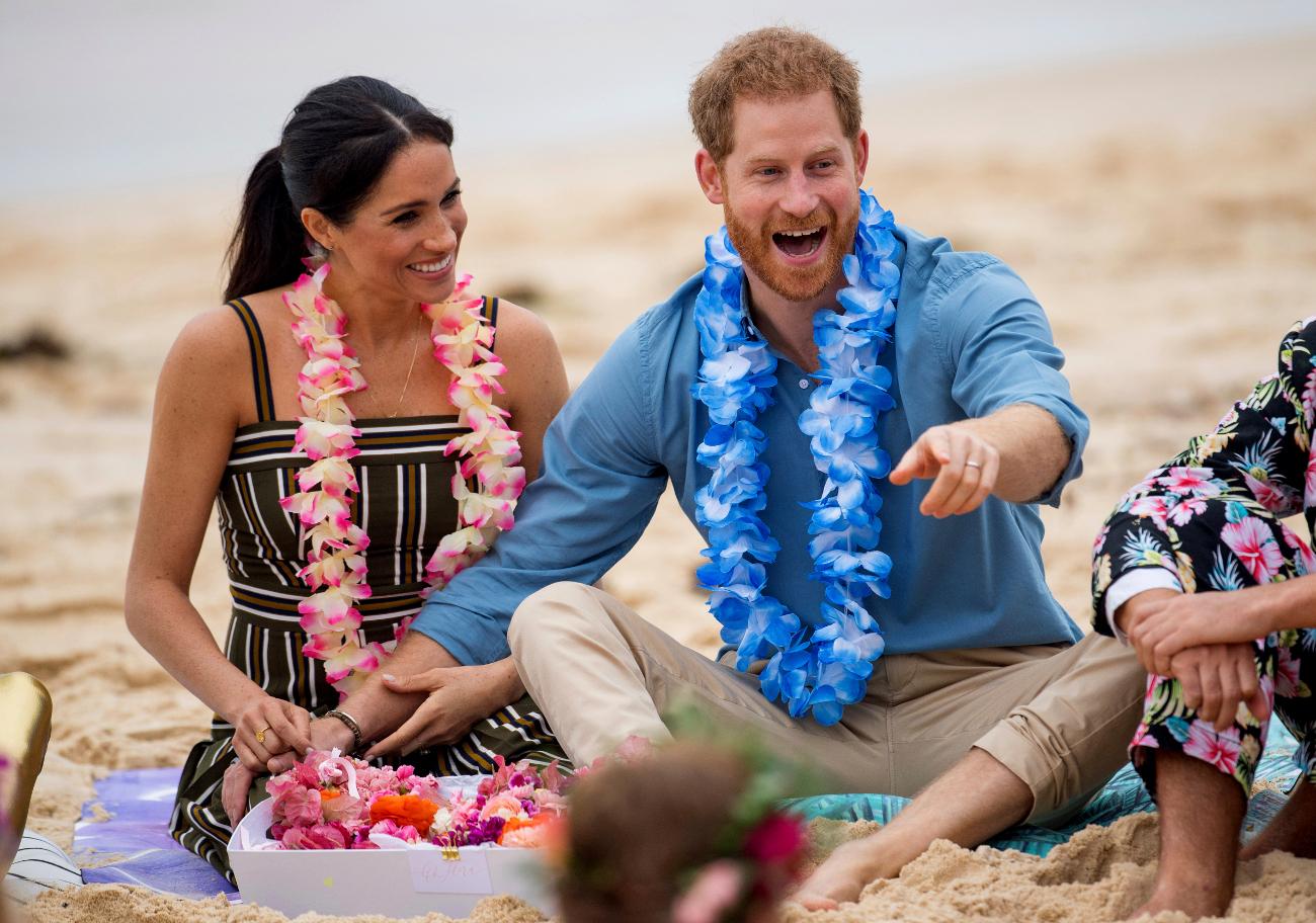 Η Μέγκαν Μαρκλ και ο πρίγκιπας Χάρι σε παραλία του Σίδνεϊ