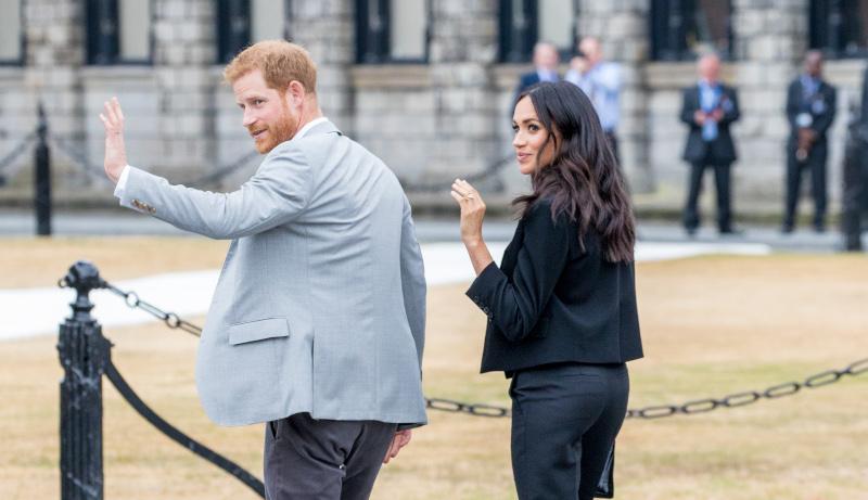 Πρίγκιπας Χάρι και Μέγκαν Μαρκλ αποχαιρετούν την βασιλική οικογένεια για να ζήσουν μια πιο ήρεμη ζωή/Φωτογραφία: Splash News