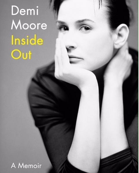 Το εξώφυλλο της βιογραφίας της Ντέμι Μουρ