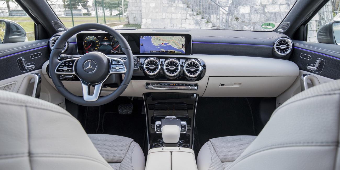 Το εντυπωσιακό εσωτερικό της Mercedes A-Class
