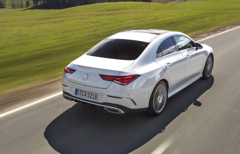 H δεύτερη γενιά του γερμανικού μοντέλου Mercedes CLA 180 d