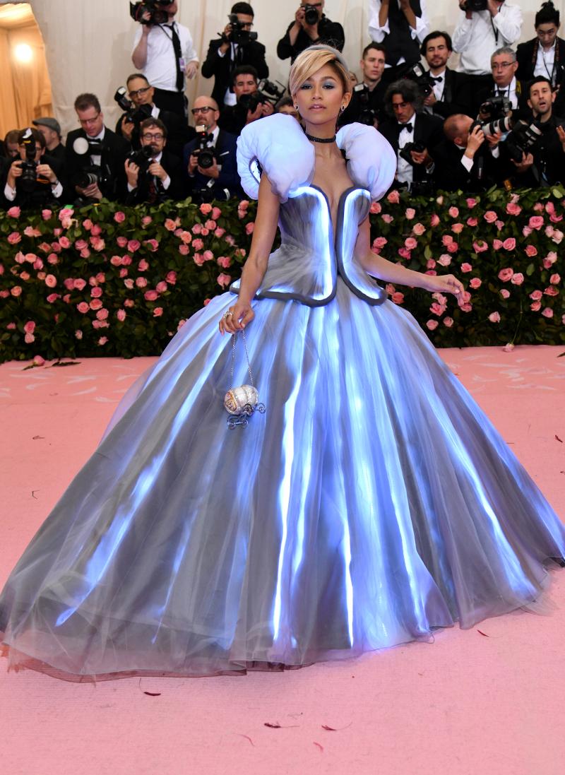 Η εμφάνιση της Ζεντάγια στο Met Gala 2019 / Φωτογραφία: AP