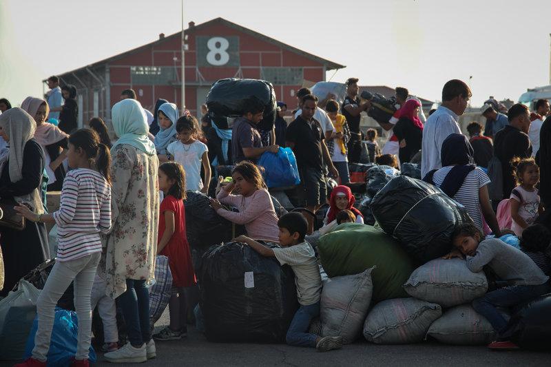 Στη Νέα Καβάλα οι πρώτοι πρόσφυγες από τη Μόρια (φωτό-βίντεο) 8