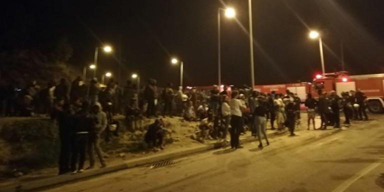 Πρόσφυγες και μετανάστες στη Σάμο