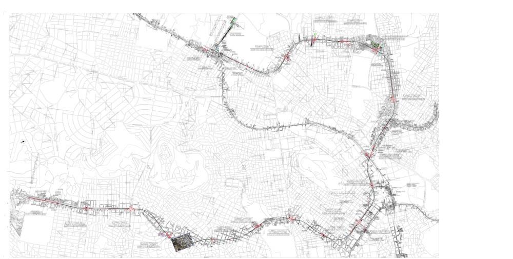 Ο χάρτης της γραμμής 4 του Μετρό