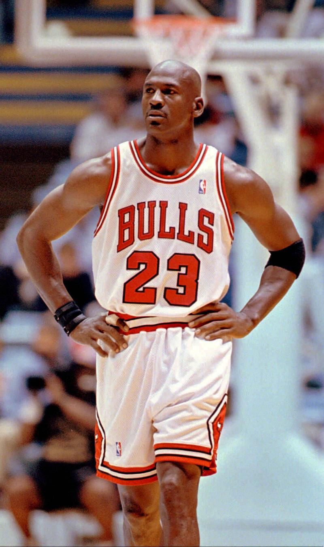 Ο διάσημος μπασκετμπολίστας Μάικλ Τζόρνταν