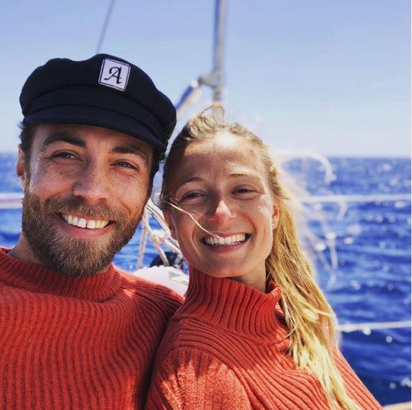 Τζέιμς μίντλετον και Αλίζ Θεβενέ σε σκάφος