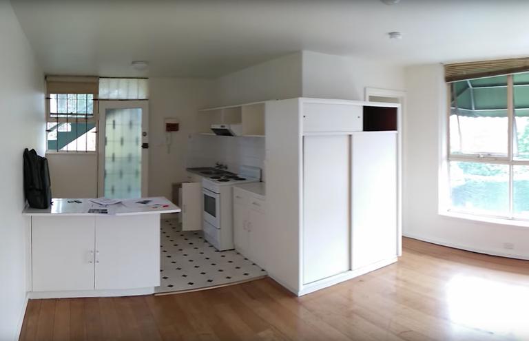 Παλιό διαμέρισμα πριν την ανακαίνιση
