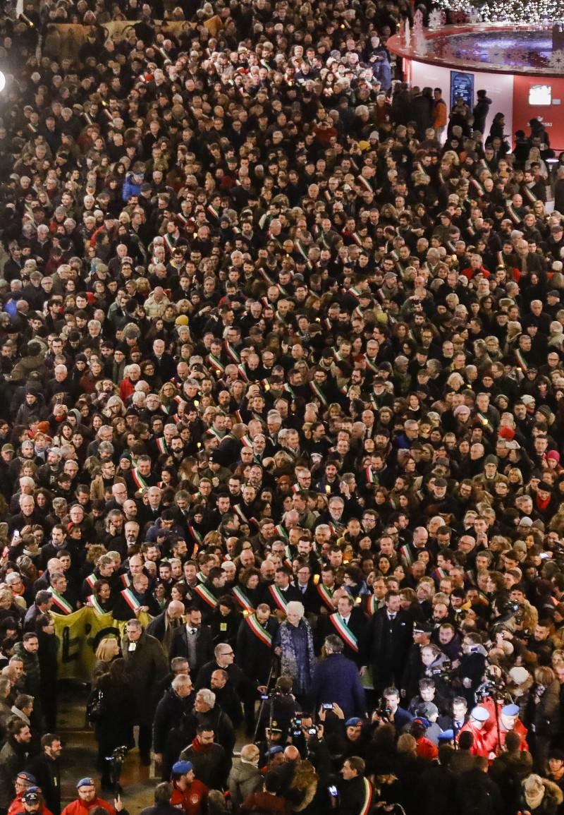Πορεία κατά τους μίσους στο Μιλάνο