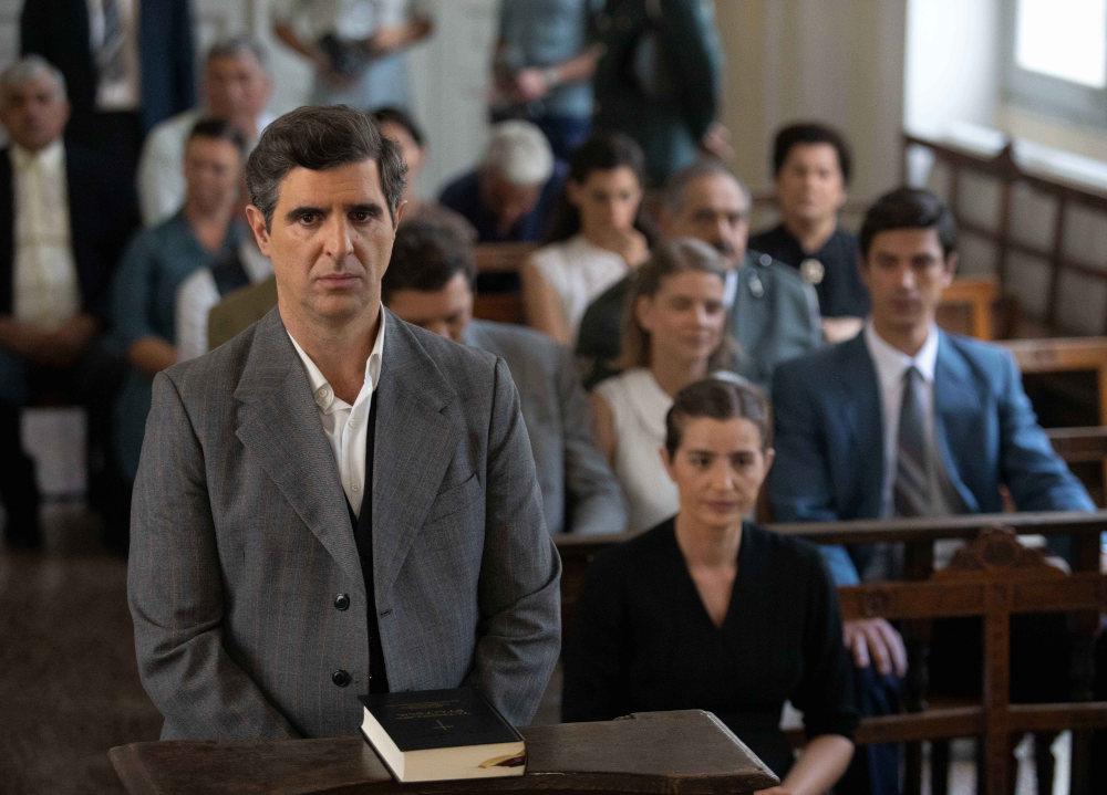 Ο Μιλτιάδης Σεβαστός στο δικαστήριο για τον φόνο του Σέργιου στις «Άγριες Μέλισσες»