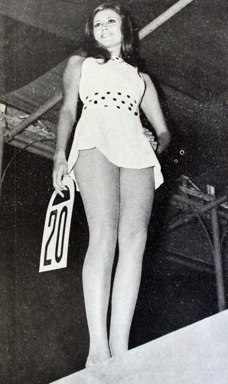 Η Αννα Μάχη Μάλαμα. «Μις Μίνι Φούστα 1969»