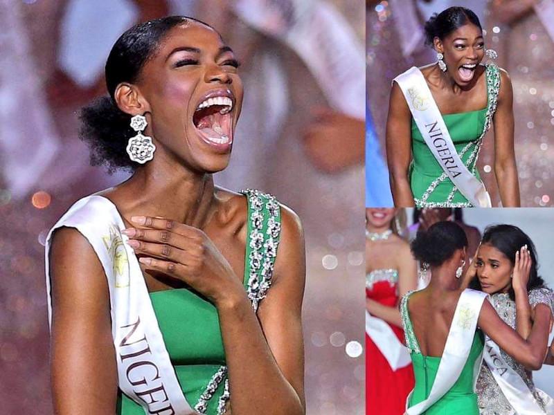 Οι αντιδράσεις της Μις Νιγηρία στην ανακοίνωση της νικήτριας των φετινών καλλιστείων