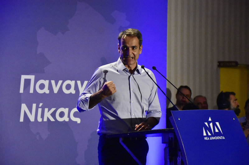 Ο Κ.Μητσοτάκης μιλάς στο Αργος