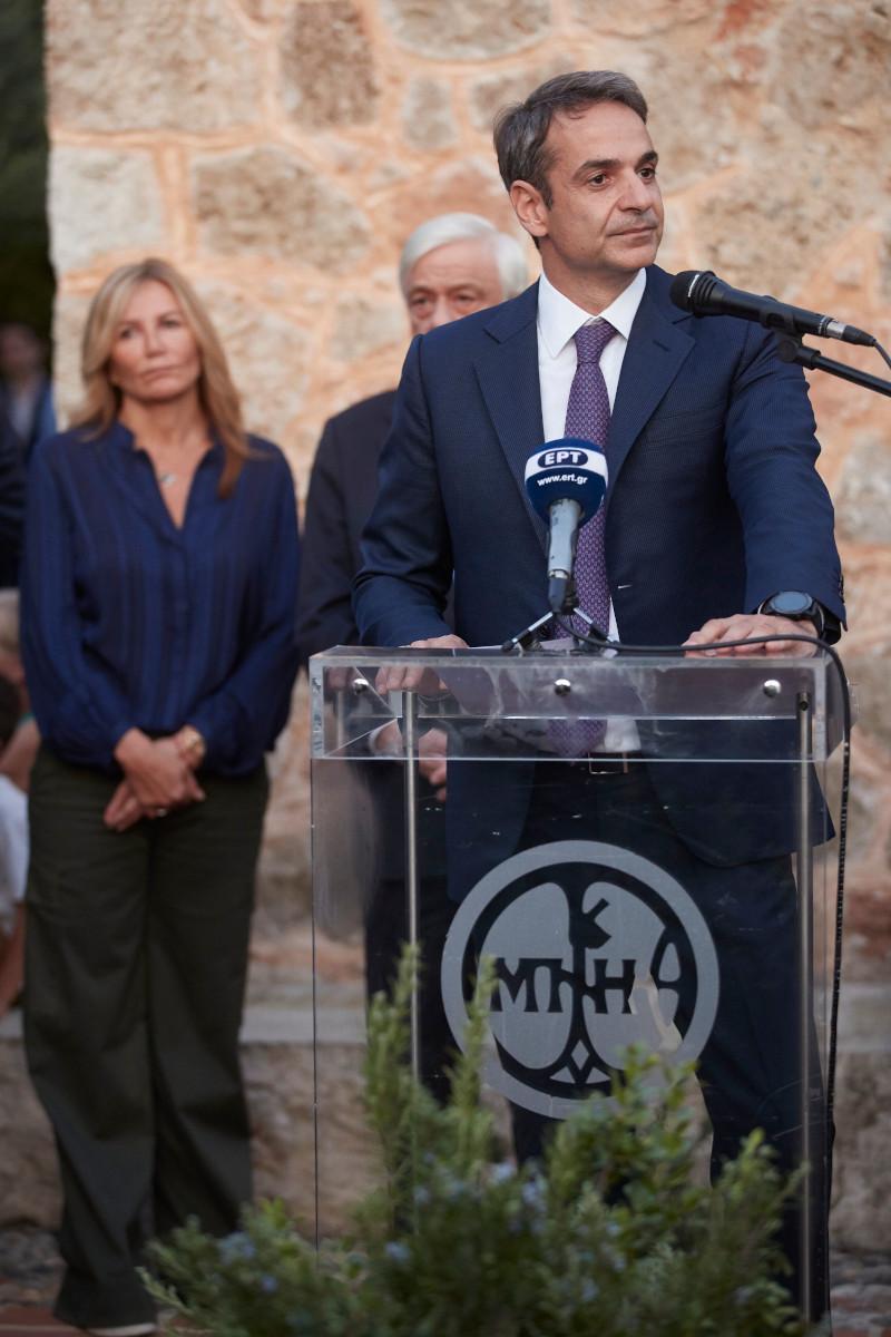 Ο πρωθυπουργός στην ομιλία του στην Καρδαμύλη Μεσσηνίας