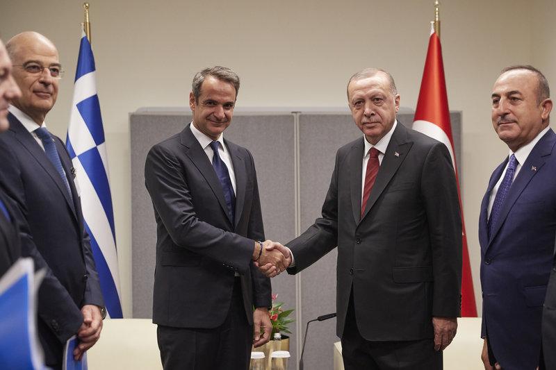Μητσοτάκης και Ερντογάν