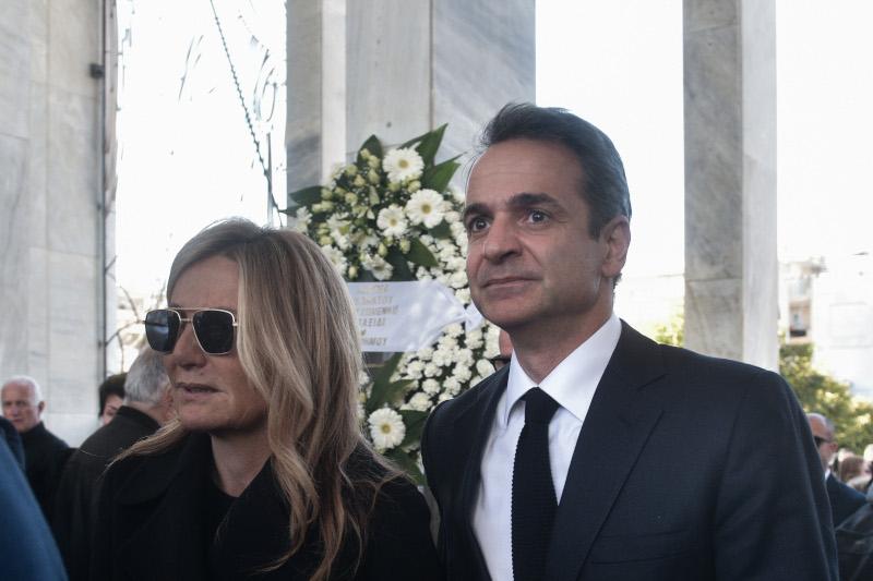 Ο Κυριάκος Μητσοτάκης με τη σύζυγό του, Μσρέβα