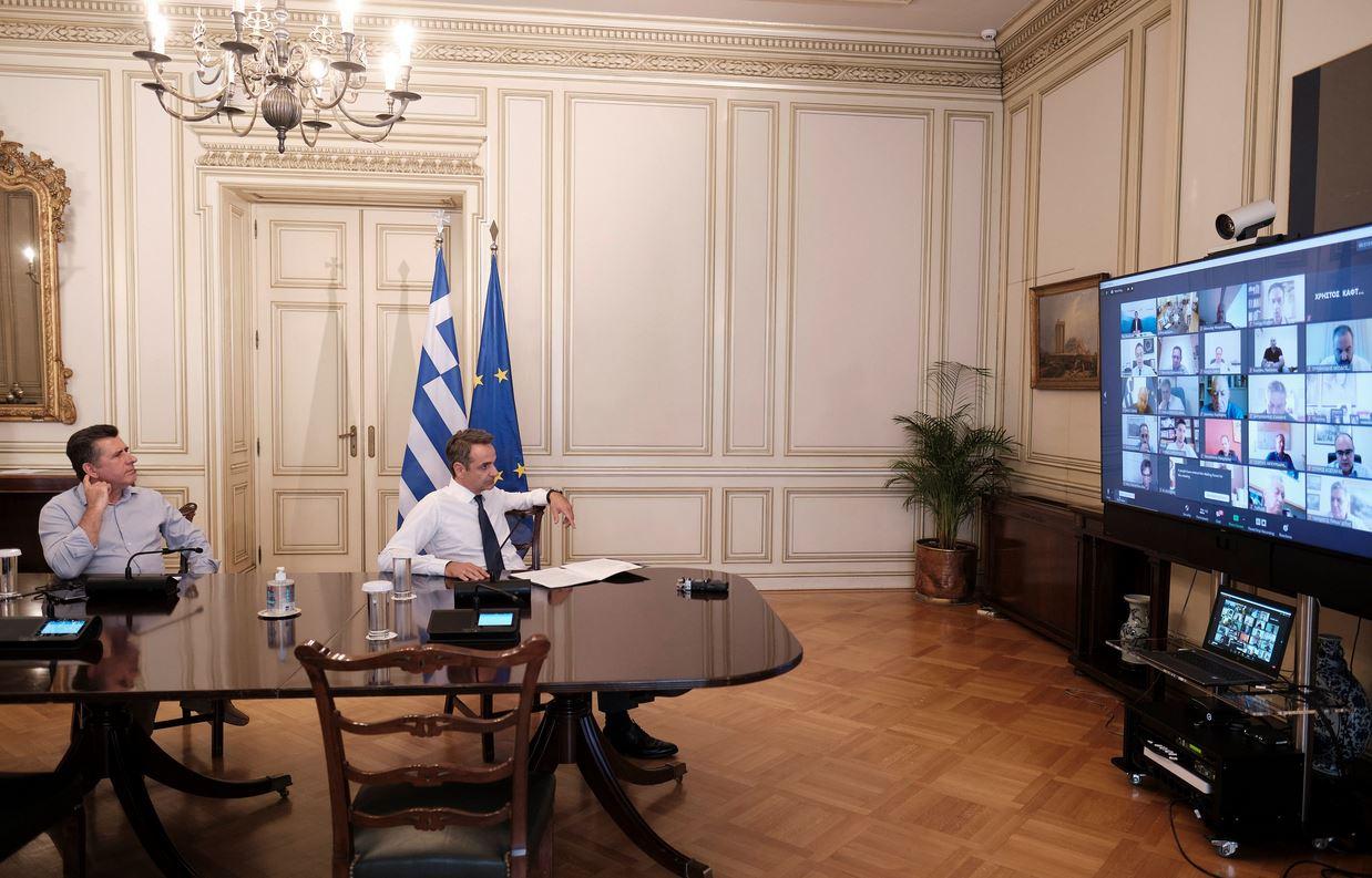 Μητσοτάκης: Ακόμα 200 εκατομμύρια ευρώ στο πρόγραμμα «Συν-Εργασία» για τη διασφάλιση των θέσεων εργασίας