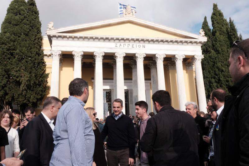 Ο Κυριάκος Μητσοτάκης στις εκλογές του Οικονομικού Επιμελητηρίου