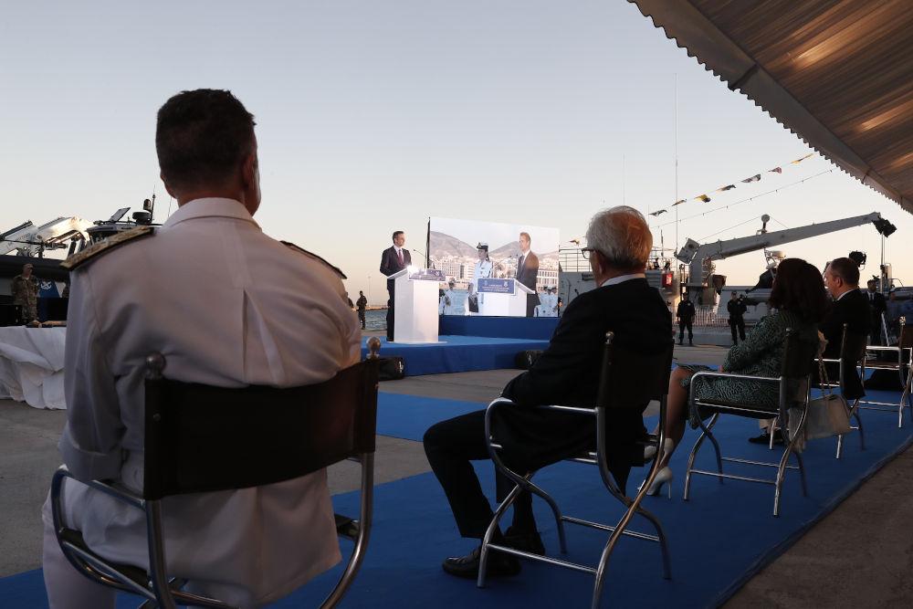 Η ομιλία του Κυριάκου Μητσοτάκη για την παραλαβή νέου ταχύπλοου από το Λιμενικό Σώμα
