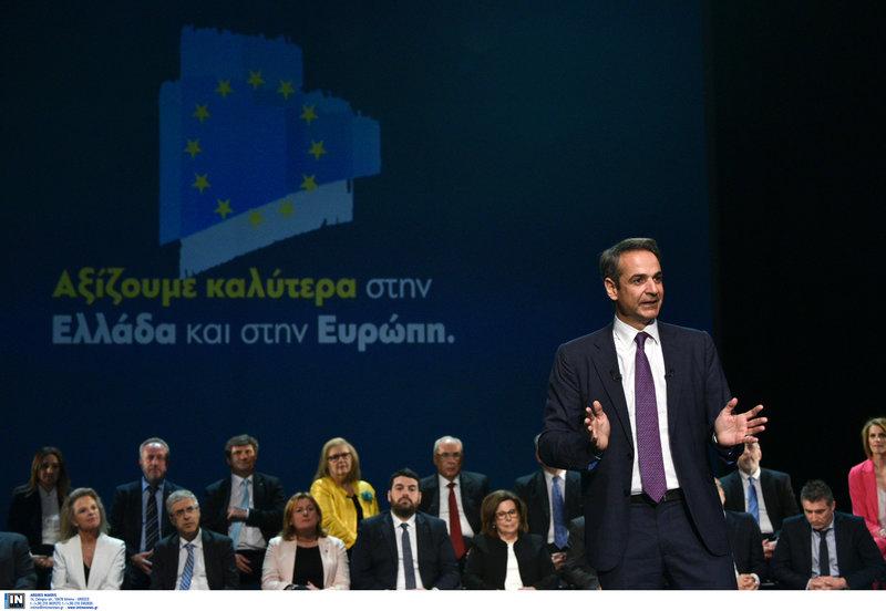 Ο Κυριάκος Μητσοτάκης -Φωτογραφία: Intimenews/ΧΑΛΚΙΟΠΟΥΛΟΣ ΝΙΚΟΣ