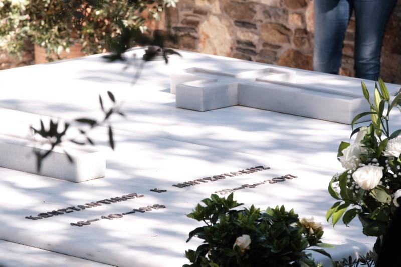 Ο τάφος του Κωνσταντίνου Μητσοτάκη