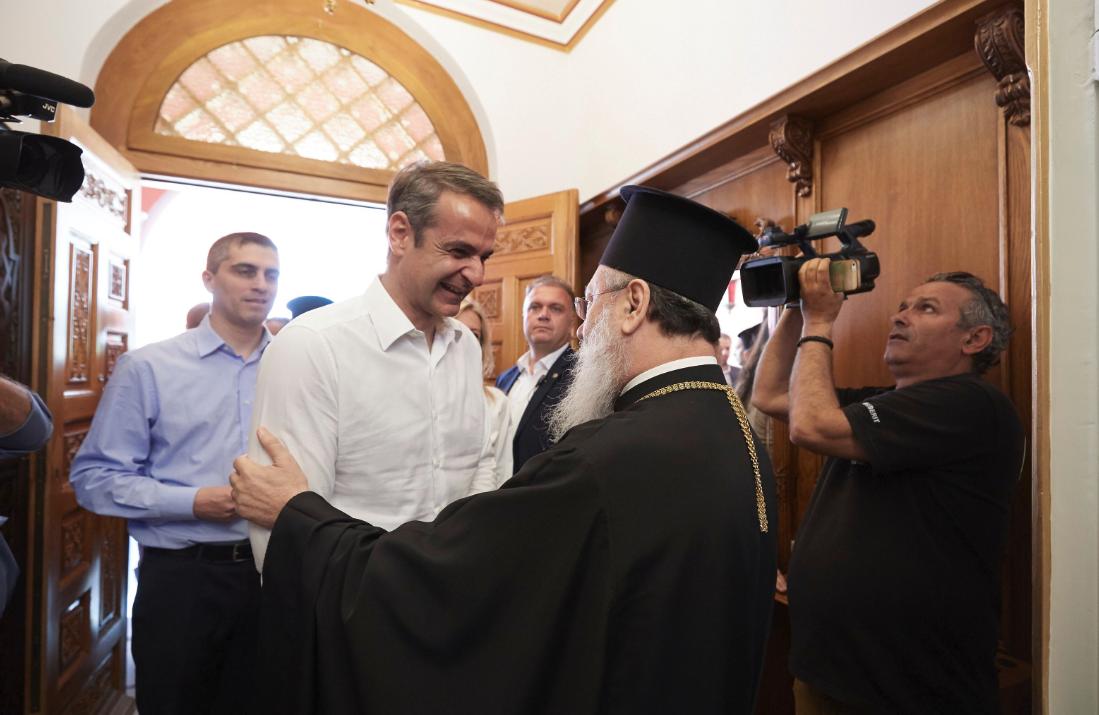 Περιοδεία του Κυριάκου Μητσοτάκη στην Πελοπόννησο