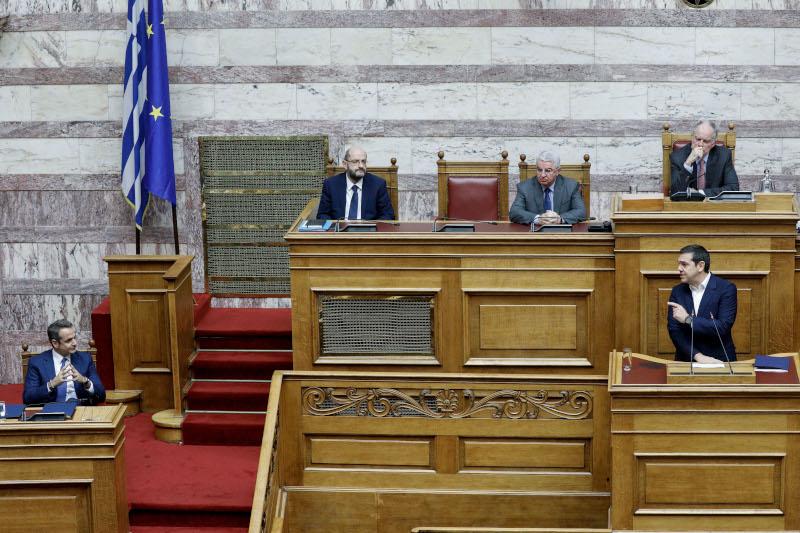 Κυριάκος Μητσοτάκης και Αλέξης Τσίπρας στην «Ωρα του Πρωθυπουργού»