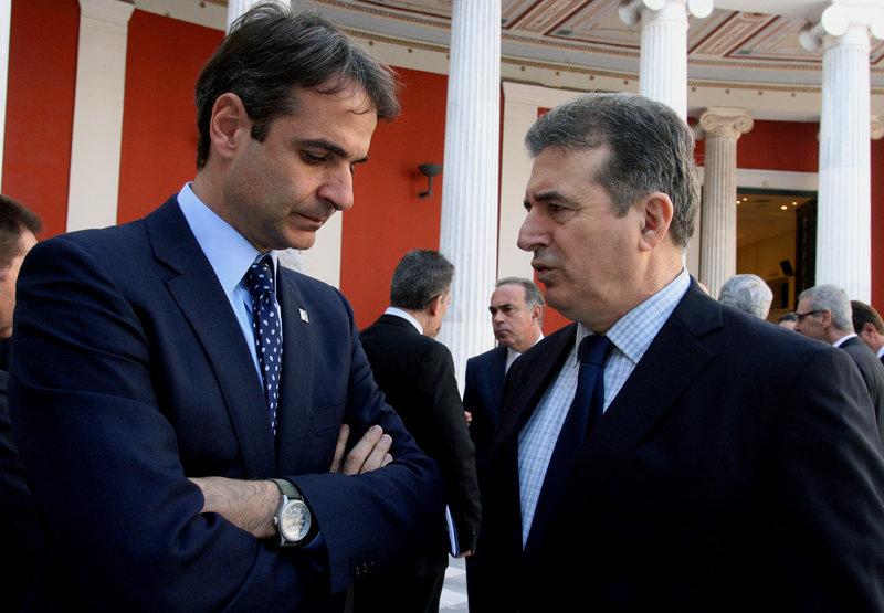 Κυριάκος Μητσοτάκης και Μιχάλης Χρυσοχοΐδης στο Ζάππειο το 2014