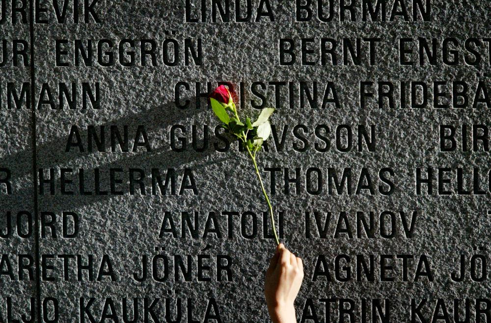 Το μνημείο των θανάτων από το ναυάγιο του MS Estonia