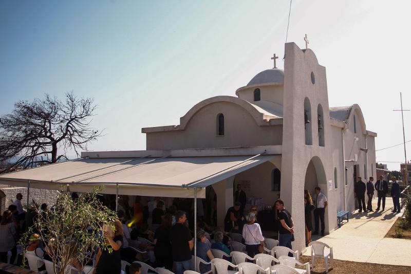 Ο ναός της Κοίμησης της Θεοτόκου