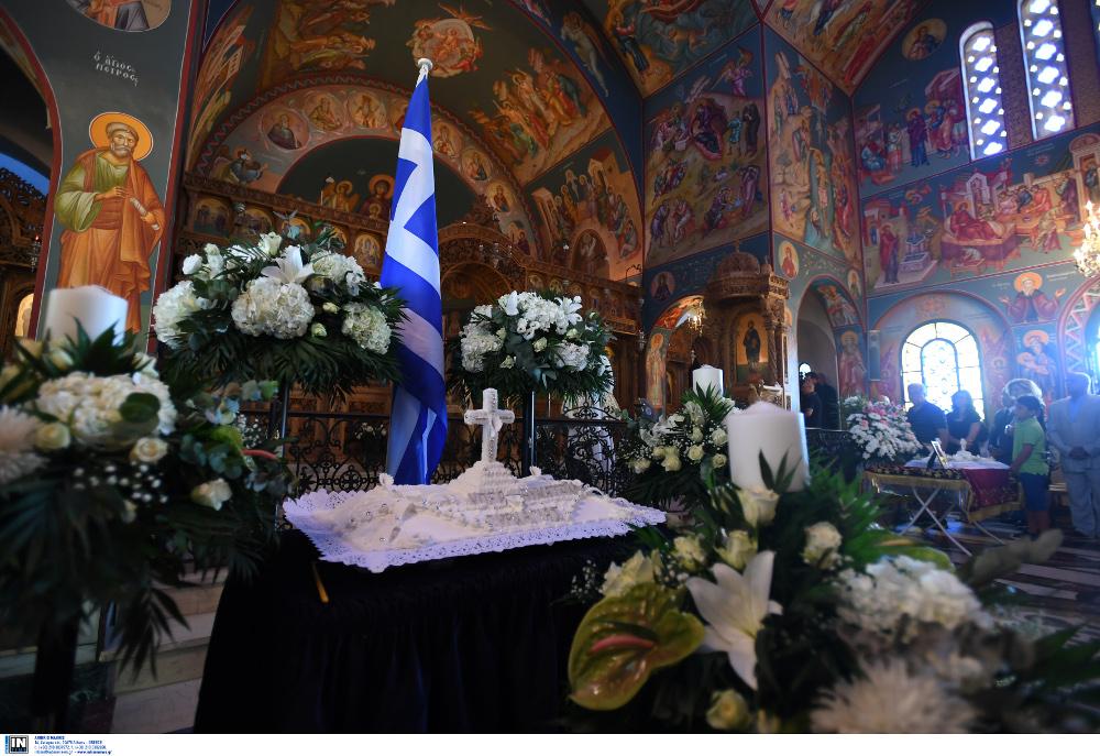 Ετήσιο μνημόσυνο για τις ψυχές των θυμάτων από την πυρκαγιά στο Μάτι πραγματοποιήθηκε σήμερα το πρωί