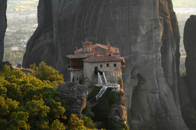 Η Μονή Ρουσάνου