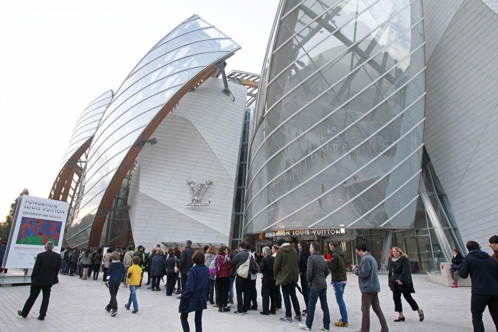 Το μουσείο Louis Vuitton στο Παρίσι