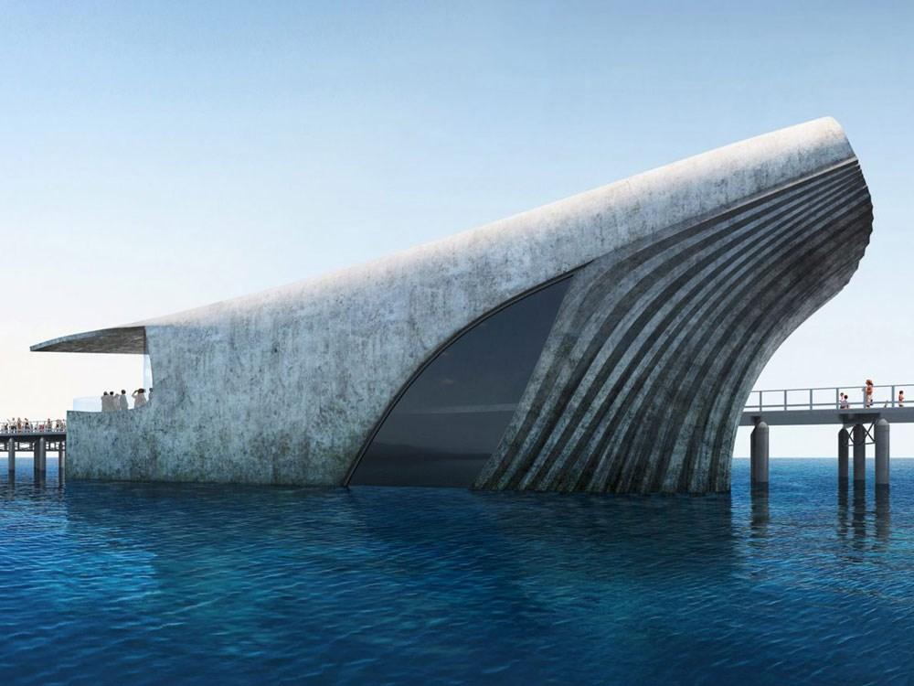 Το εντυπωσιακό παρατηρητήριο σε σχήμα φάλαινας