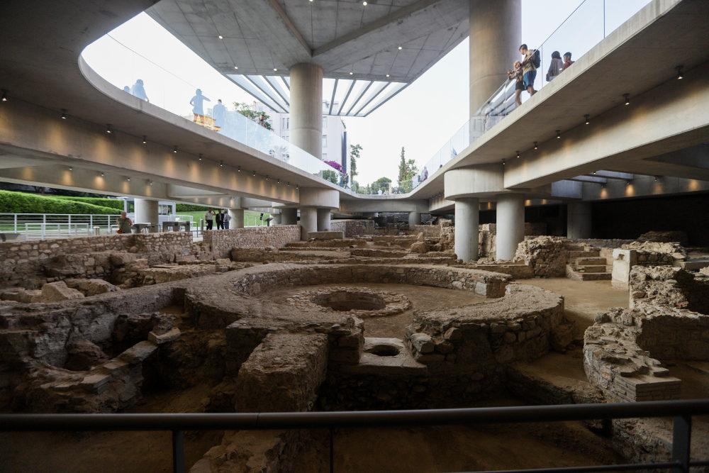 Ο χώρος της ανασκαφής ανοίγει στο κοινό με αφορμή τα 10 χρόνια λειτουργίας του Μουσείου της Ακρόπολης