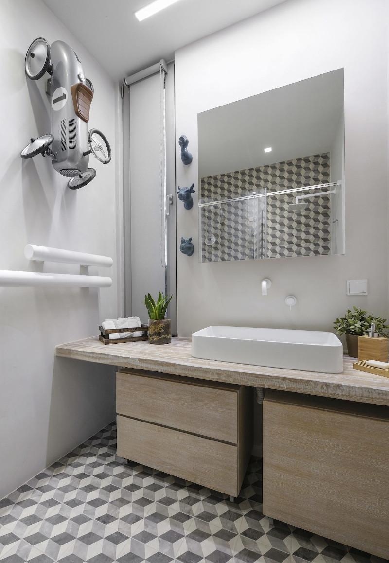Το μπάνιο του διαμερίσματος
