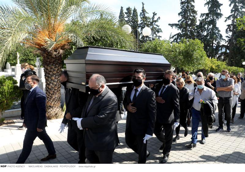 Κηδεία του Κώστα Μπατή