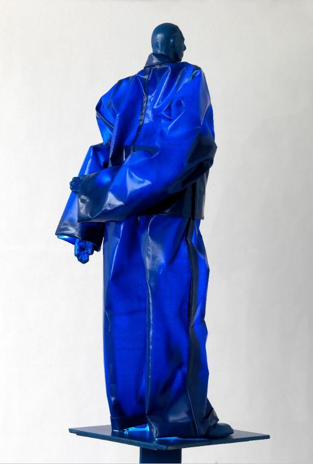 Μπλε γλυπτο