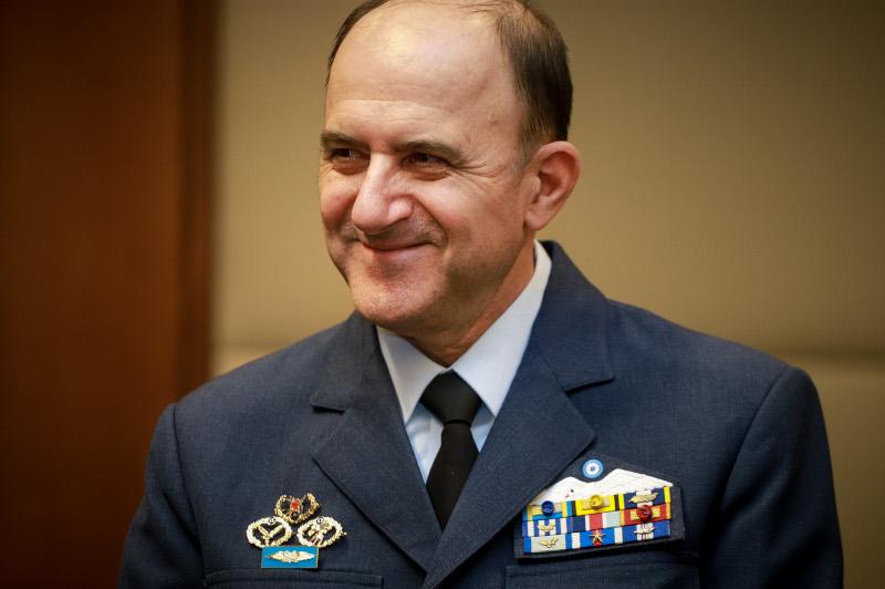 Παραμένει αρχηγός του Γενικού Επιτελείου Αεροπορίας ο Γεώργιος Μπλιούμης / Φωτογραφία: Eurokinissi