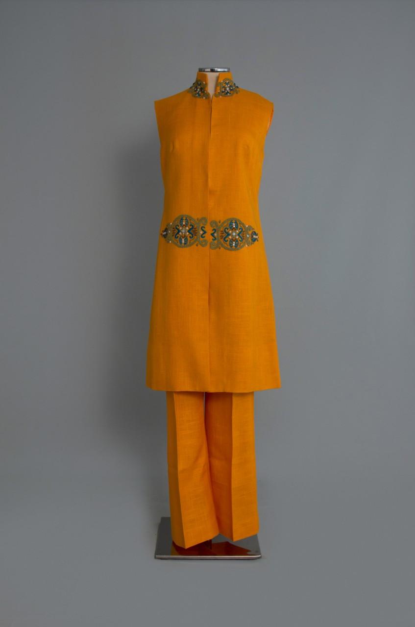 μπλούζα παντελονι πορτοκαλί