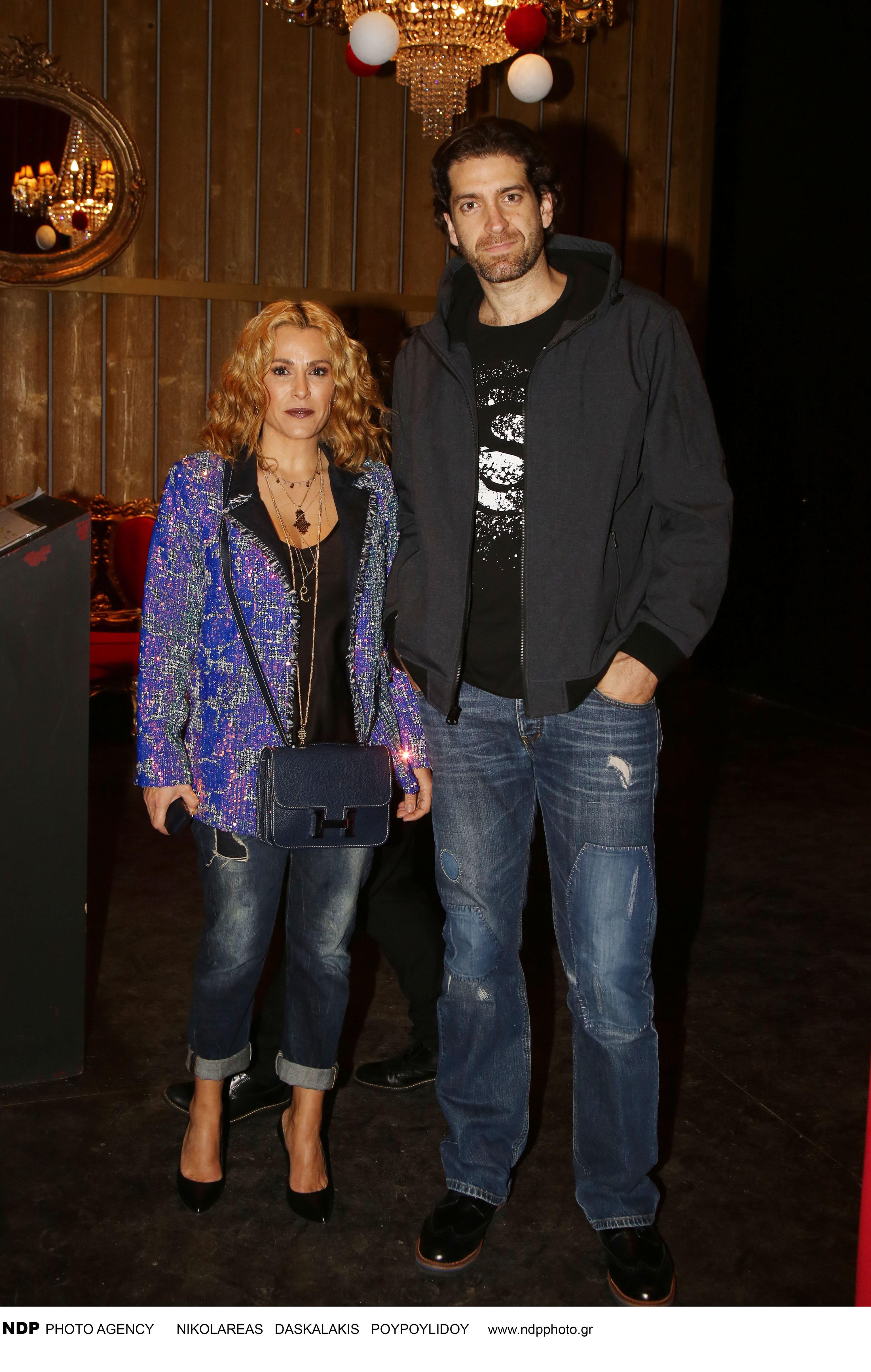 Η Τζένη Μπότση με τον αγαπημένο της Αλέξανδρο Μιχαλά