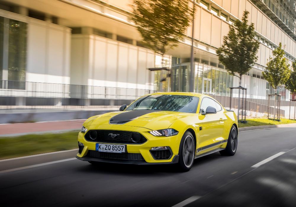 «Πάτησε» Ευρώπη η Ford Mustang των 460 ίππων