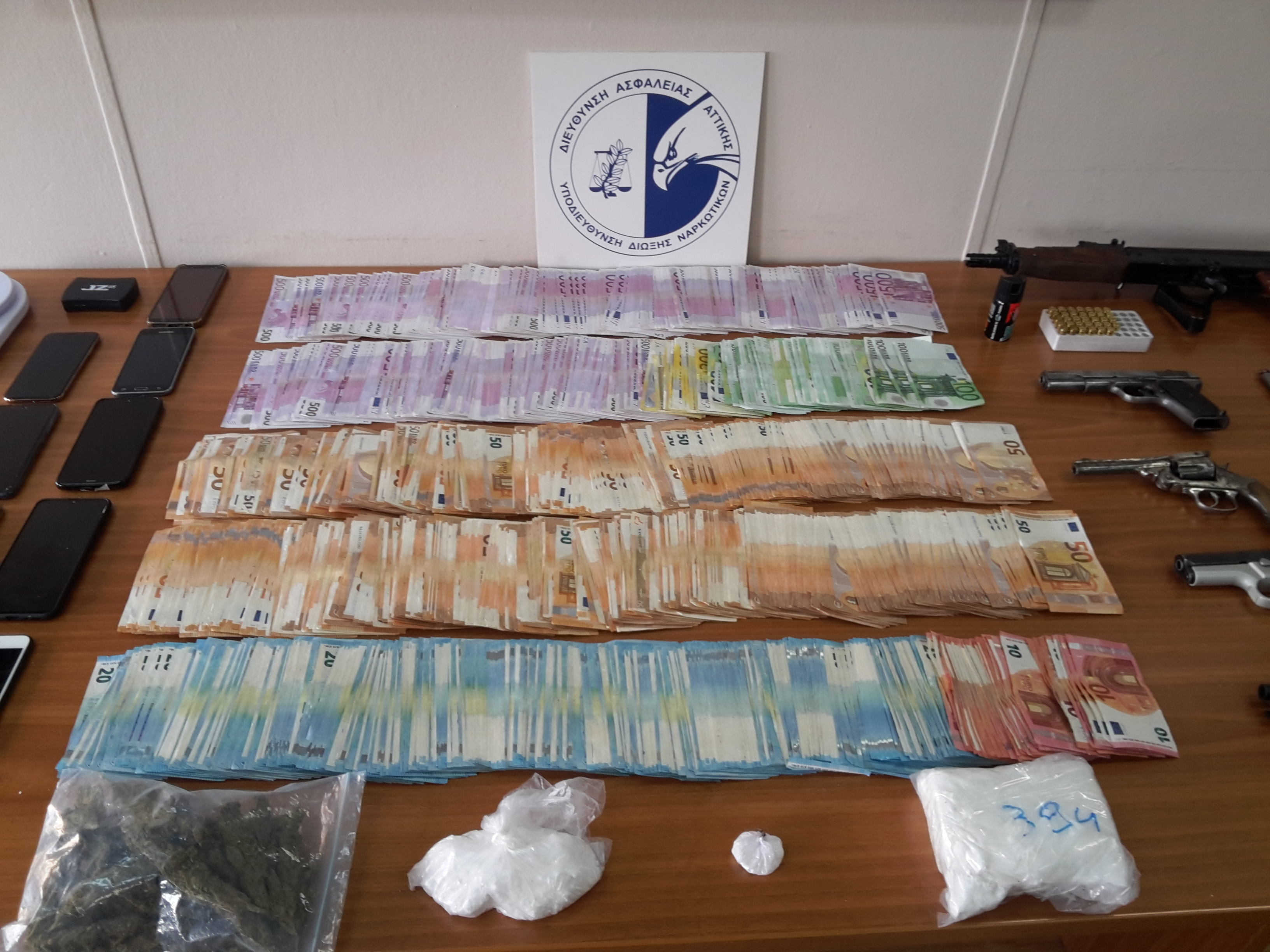 ΕΛ.ΑΣ: Πώς εξαρθρώθηκε το κύκλωμα κοκαΐνης