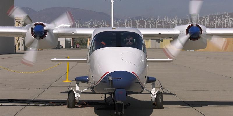 Το ηλεκτρικό αεροπλάνο κατά την παρουσίασή του