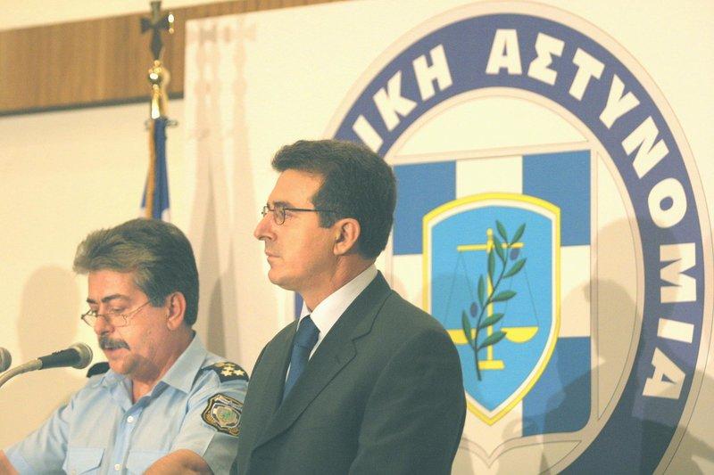 Δηλώσεις Νασιάκου Χρυσοχοΐδη για τα ευρήματα στη γιάφκα της 17Ν το 2002