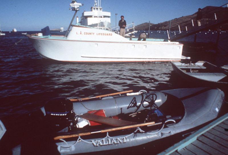 Η φουσκωτή βάρκα που, σύμφωνα με τον σύζυγό της, πήγες να δέσει η Νάταλι Γουντ